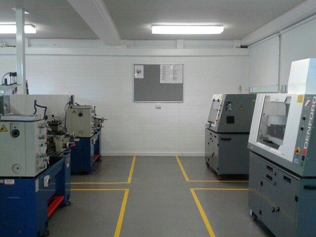 CNC & turning bay