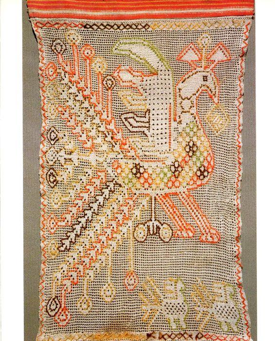 Народная вышивка тверской земли. Russian Folk Embroidery