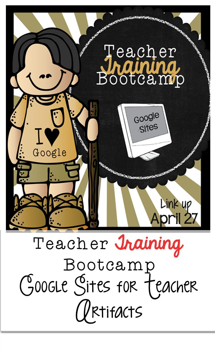 Organizing your artifacts for teacher evaluation purposes will never be easier if you use Google Sites. Check out my post from Teacher Training Bootcamp to learn how.