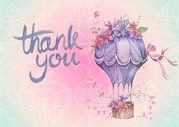 Dziękujemy, Tle, Powietrza, Balon