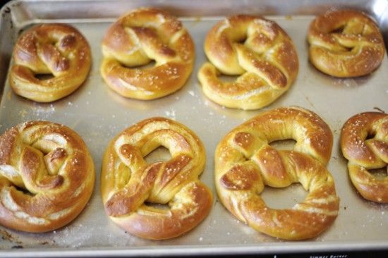 Homemade German Soft Pretzels....again with the German food!