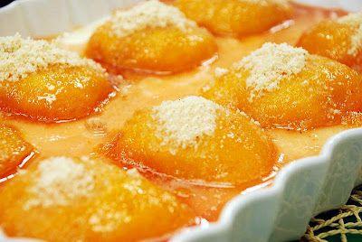 Ramazan tatlıları: Hafif bir şeftali tatlısı