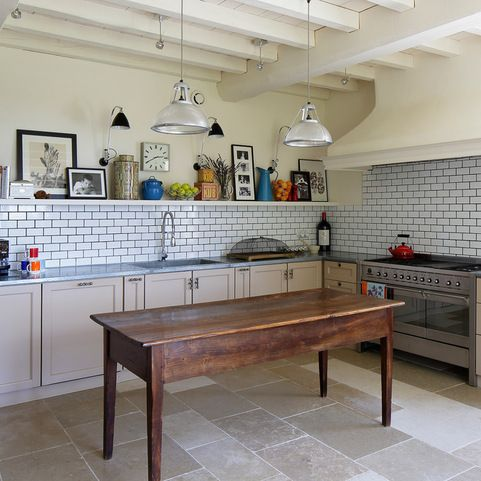 Mediterranean Southern France Kitchen Design Ideas Photos