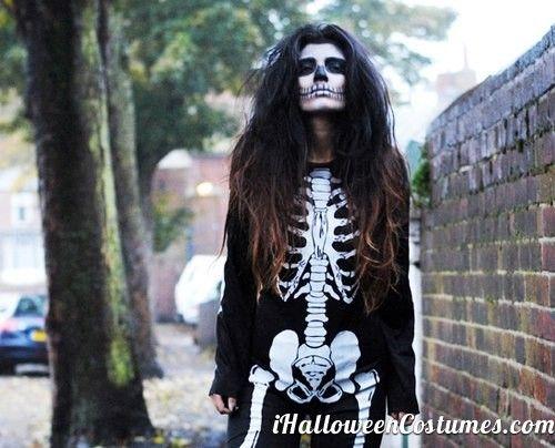 skeleton costume for Halloween - Halloween Costumes 2013