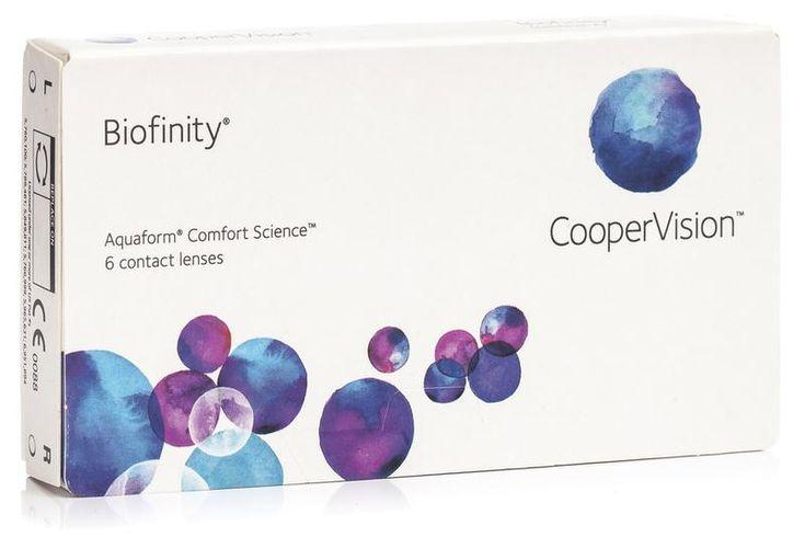 Biofinity CooperVision (6 lentile)