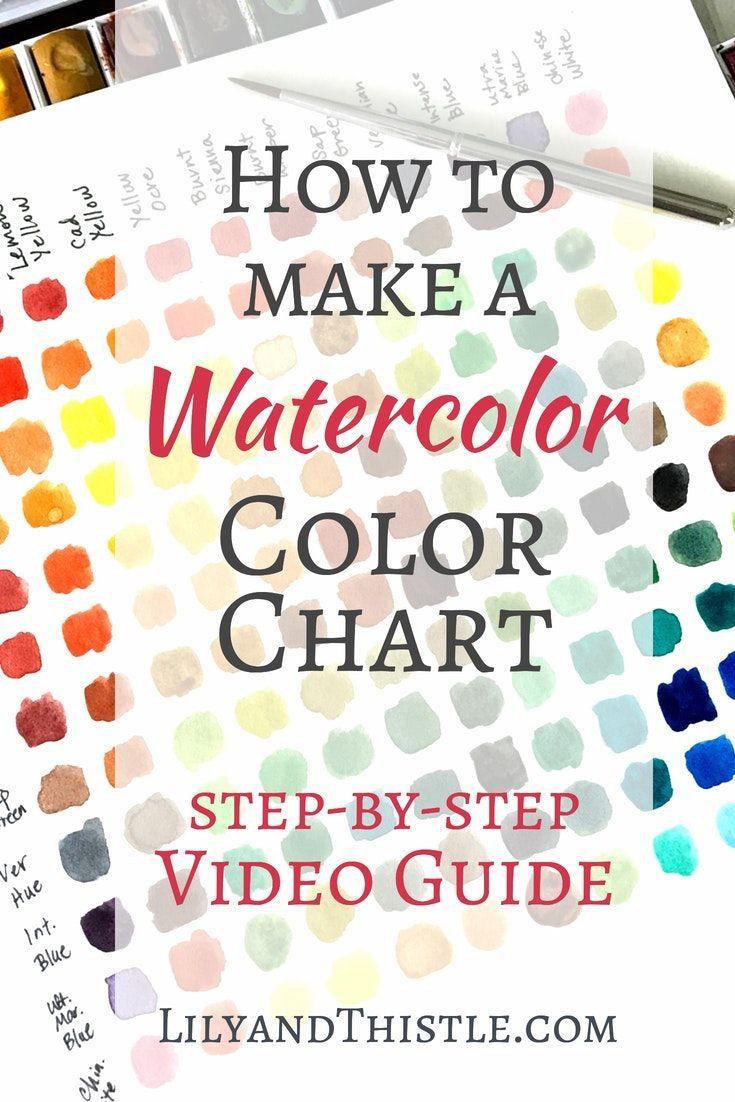 Watercolor Basic Supply List For Beginners Watercolor Beginner