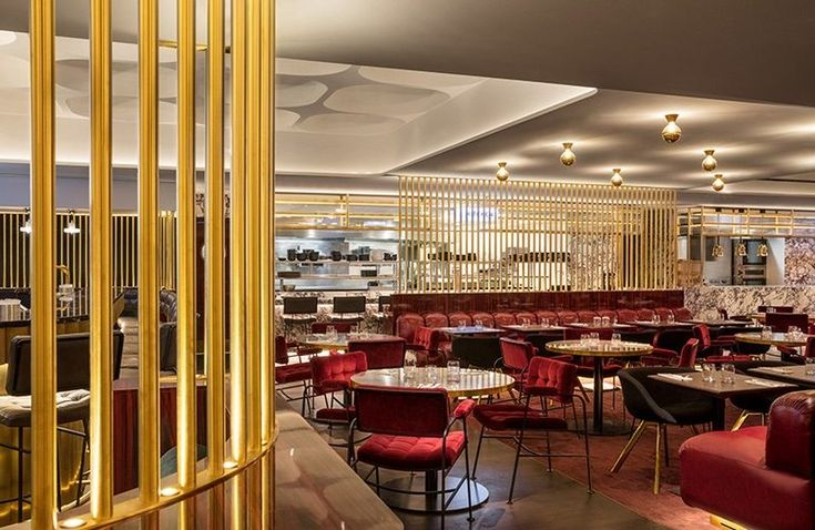 """Designed by internationally acclaimed, Tom Dixon Studio, the new restaurant """"Le Drugstore"""" Brasserie is located just a few steps from the prestigious Arc de Triomphe, in Paris. ➤ To see more news about luxury lifestyle visit Coveted Edition at www.covetedition.com #covetededition #covetedmagazine #tomdixonstudio #tomdixon #ledrugstore #ledrugstorebrasserie #restaurants #luxuryrestaurants"""