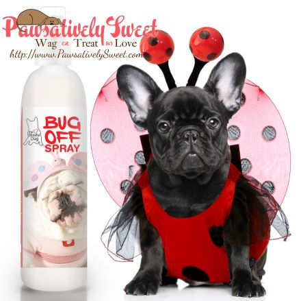 BUG OFF SPRAY SAYS GOODBYE ANNOYING BUGS! GOODBYE HARSH CHEMICALS! Using our natural blend of essential oils plus other insect offensive goodies, work together to keep bugs off. Plus, the refreshing herbal aroma says KEEP AWAY to bugs! Pesticide free, worry free Use on your dogs, horses, yourself Safe to use with topical preparations  Helps repel flies, mosquitoes, chiggers, gnats and other annoying bugs Spray as needed  Reapply as desired