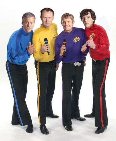 The Wiggles/Sherlock ...That's it. We have nothing left to lose anymore. It's all gone, now...