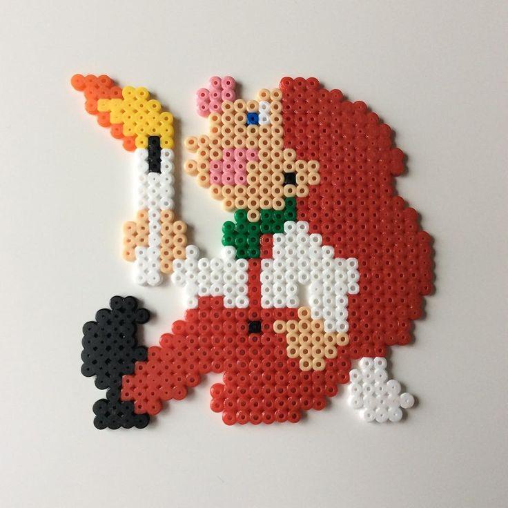 Christmas nisse hama beads by _the_creative_girls_