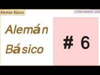 Curso básico para aprender alemán. Lección 6: el verbo Haben