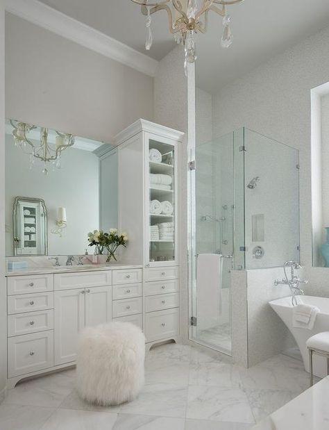 Best 25 Bathroom Linen Cabinet Ideas On Pinterest Bathroom Built Ins Linen Cabinet In