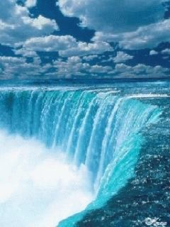 ZOOM FRASES: cascadas,con movimiento,gif,fondo para telefonos móviles