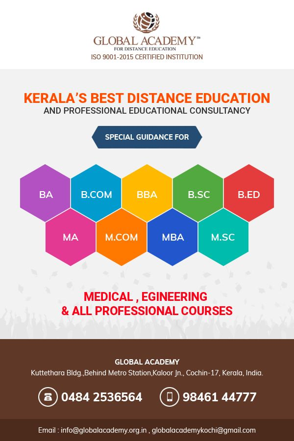 Are You In Search Of Distance Education Courses We At Global Academy Offers