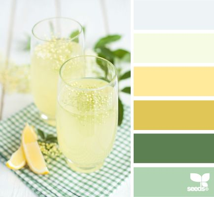Color Refresh: Sky Blue, Lemon Water, Grellow, Lemon Lime Green, Deep Pine Green and Minty Green