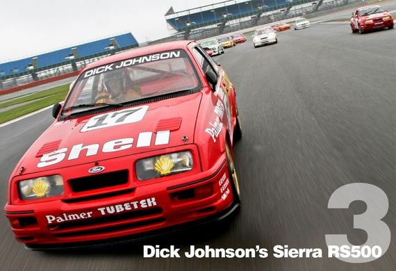 1988 Dick Johnson Ford Sierra Cosworth RS500