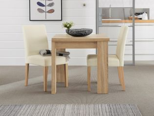 Corsica® Square To Rectangle Dining Table from Next