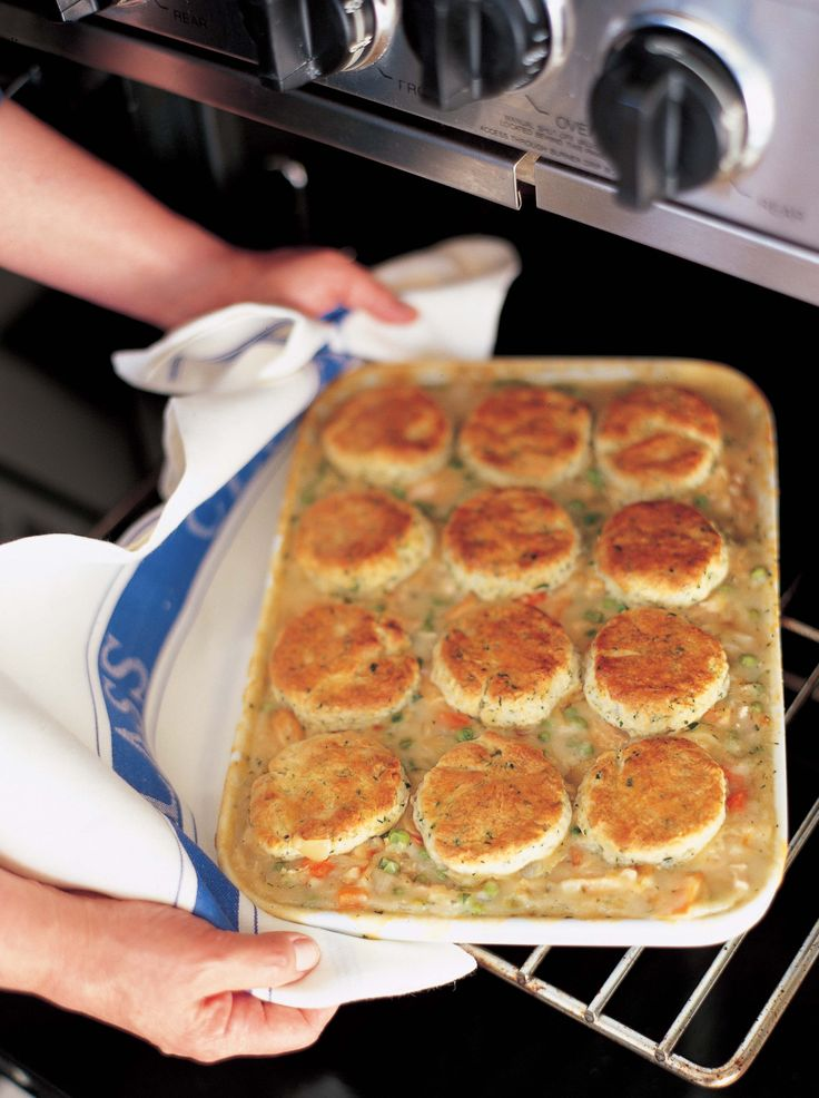 Chicken Stew with Biscuits - I love this recipe!