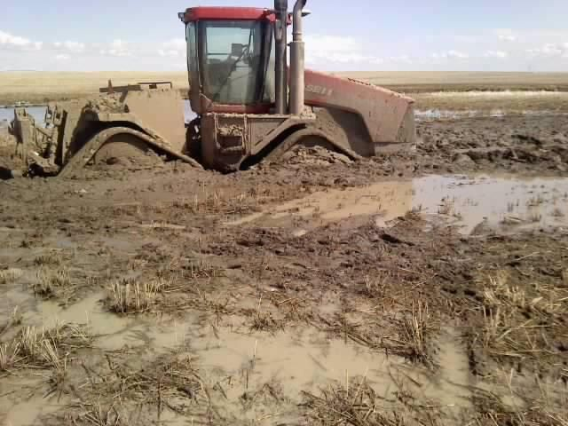 CASE IH Quadtrac Stuck