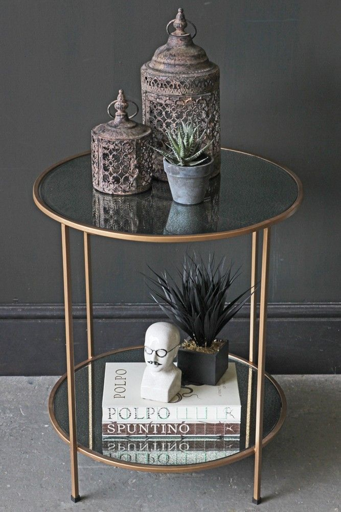 Finding The Time To Keep Our Homes Tidy Can Be Tough But It Is Important This Board Will Show You Living Room Side Table Side Table Decor Mirrored Side Tables