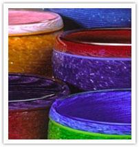 Multicolored Mexican Pottery