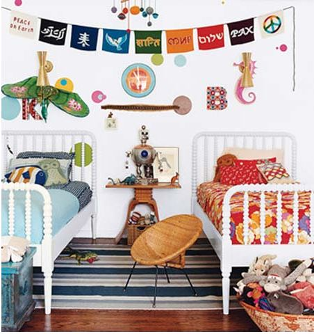 shared kids room: Kids Bedrooms, Boys Rooms, Twinbeds, Shared Rooms, Kid Rooms, Twin Beds, Shared Bedrooms, Girls Rooms, Kids Rooms