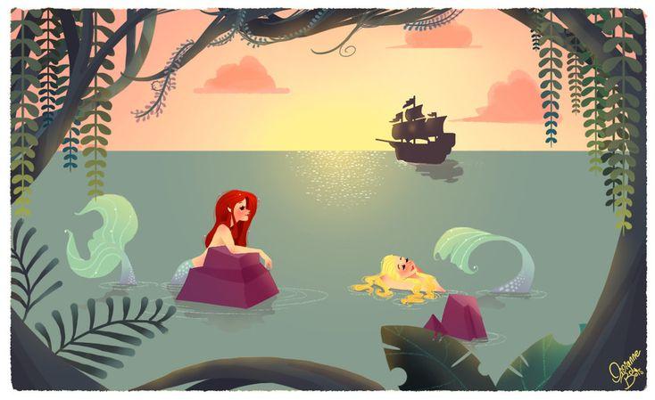 The Mermaid Lagoon by ~Vijolea on deviantART