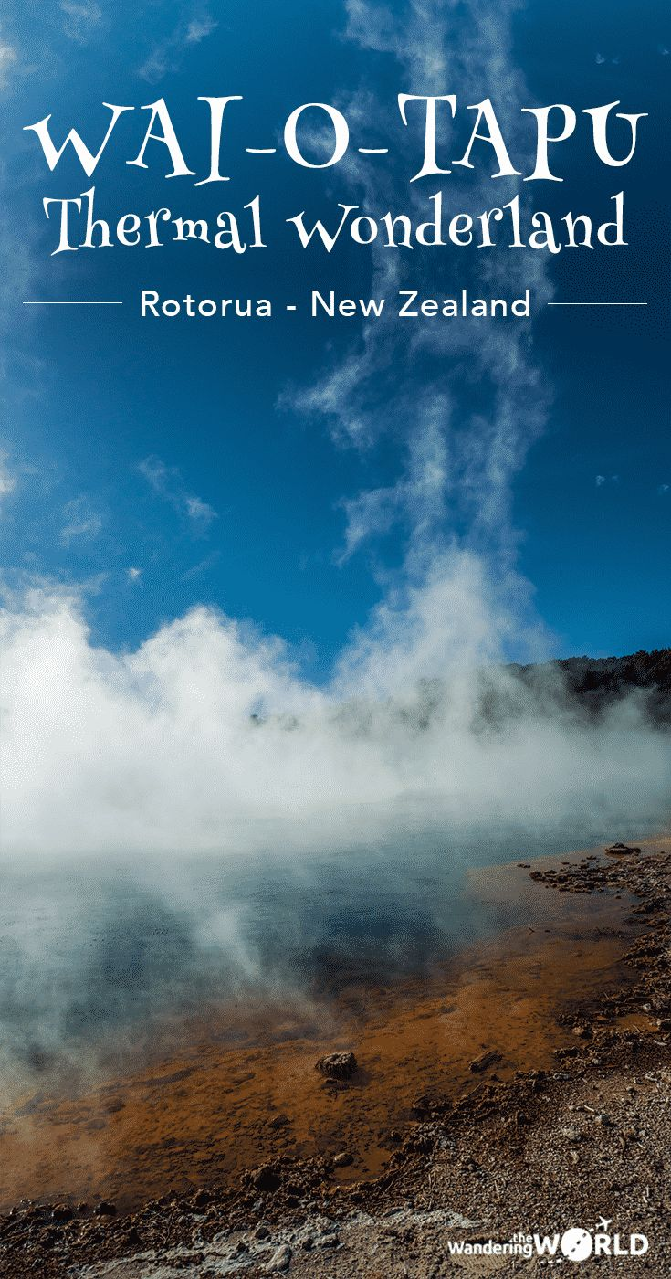 A visit to Wai-O-Tapu Thermal Wonderland in Rotorua, New Zealand - Wandering the World