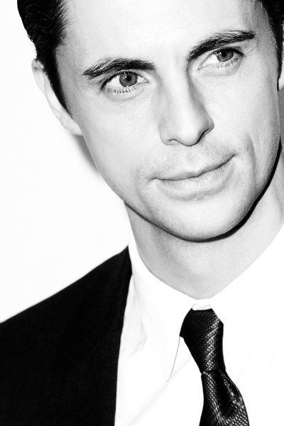 There is nothing creepier than watching Matthew Goode in Stoker, then turning around to find him sitting behind you!!!
