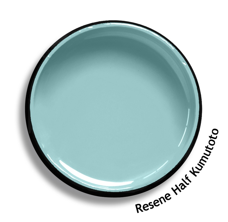 Resene Half Kumutoto is a soft toned coastal blue, hazy in the morning light. Try Resene Half Kumutoto with green edged creams, light blues or bright green yellows such as Resene Coconut Cream, Resene Hemisphere or Resene Impromptu. From the Resene The Range fashion colours. Latest trends available from www.resene.co.nz. Try a Resene testpot or view a physical sample at your Resene ColorShop or Reseller before making your final colour choice.