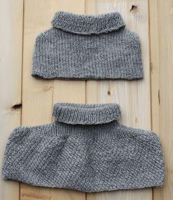 mamy e baby coprispalla di lana lavorato con i ferri circolari senza cuciture