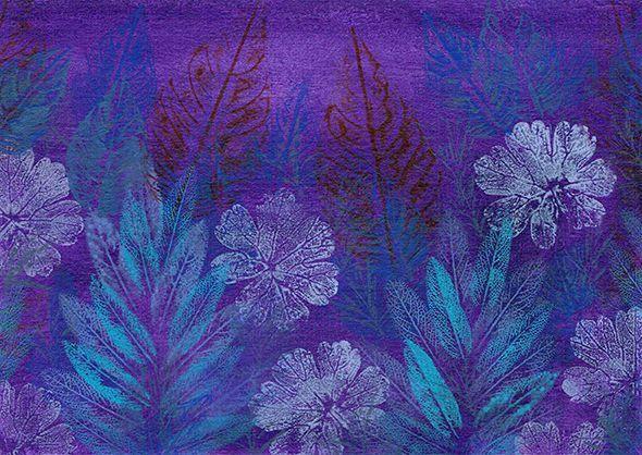 Celeste Sterling is creating leaf paintings | Patreon