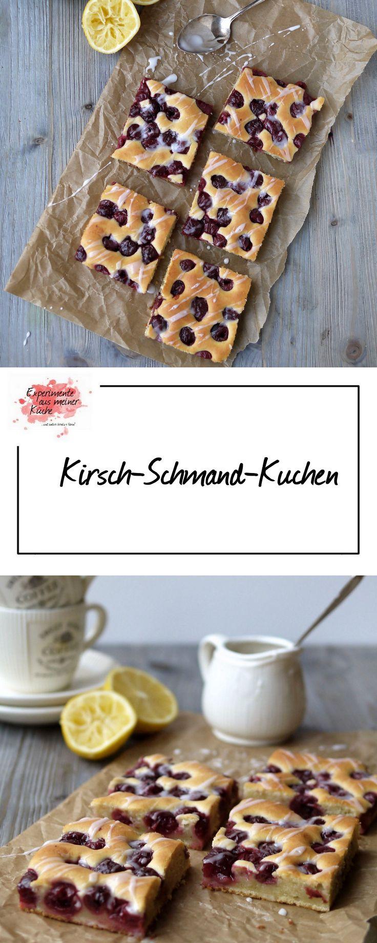 Experimente aus meiner Küche: Kirsch-Schmand-Kuchen