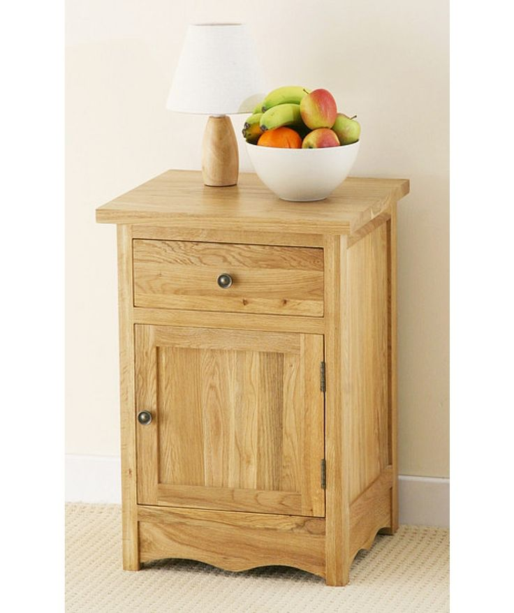 Cairo natural side of bedside cabinet is extremely elegant #furniture for any modern #home adding an ample extra storage space to any #bedroom.