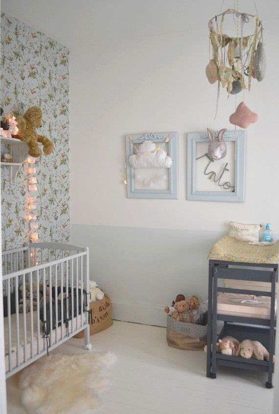 #deco #chambre #enfant papier peint Humming birds de Cole and Son