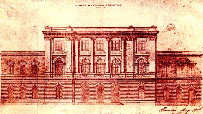 Planos del Palacio Nacional