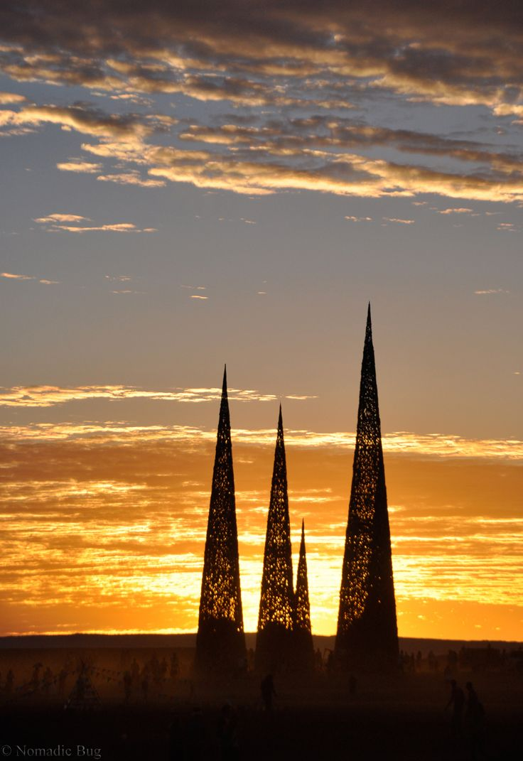 Subterrafuge sunset, Tankwa Town, AfrikaBurn, SOUTH AFRICA Nomadic Existence