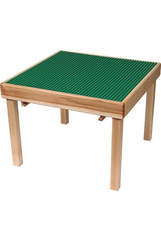 LEGO DACTA FLIP TOP TABLE GREEN from Honor Roll Childcare Supply.