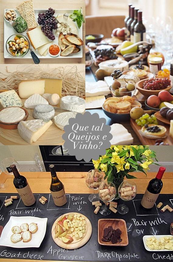 Vai de cordeiro? Então, que tal abrir a festinha com queijos e vinhos? Essas ideias de decoração da mesa não são demais?