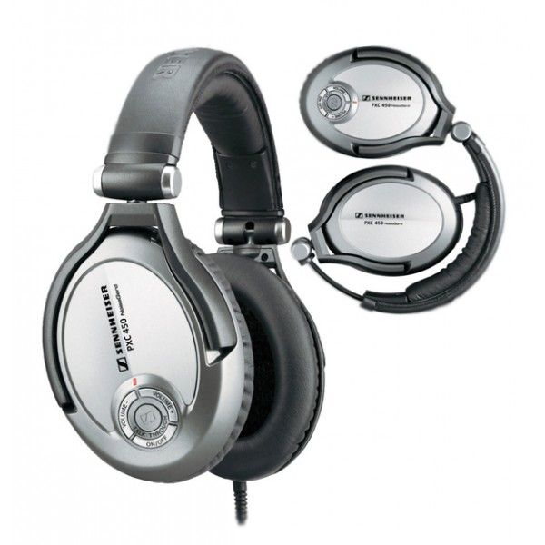 Sennheiser PXC 450 - NoiseGard™ 2.0 active noise compensation provides best possible protection against ambient noise (up to 90%)