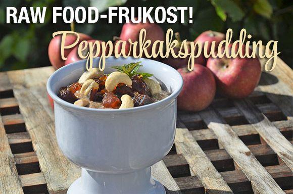 Recept på pepparkakspudding