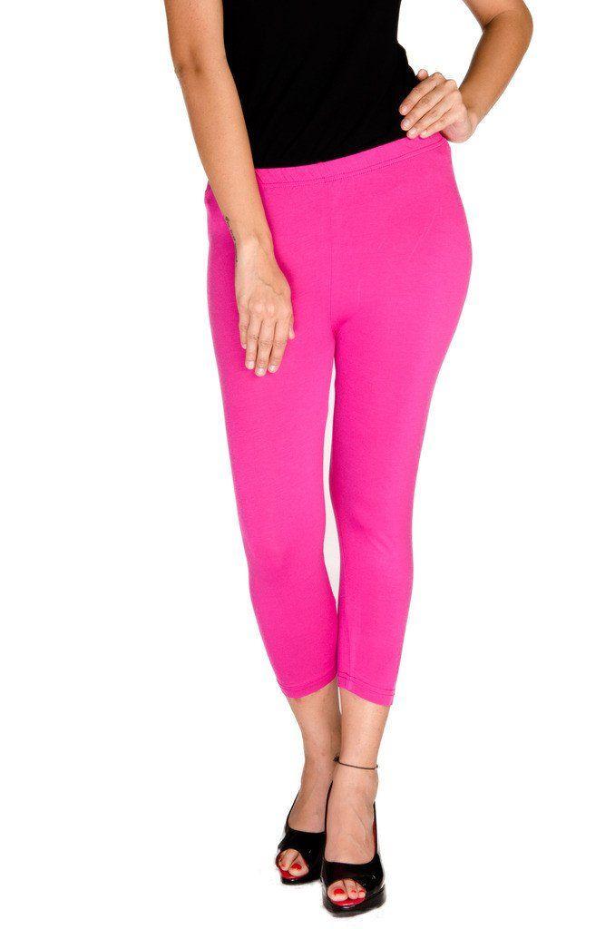 Ladies Leggings 3/4th (Capri) Viscose Lycra Onion  #skirts #discount #fashionbloggers #longshrug #onlinedeals #ss17 #cybermonday #womensfashion #onlineshopping #bloggerpost
