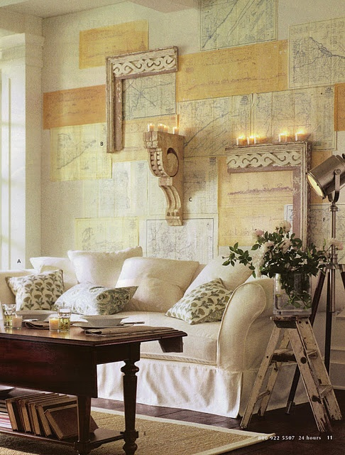 46 best decorating with maps images on pinterest home ideas maps