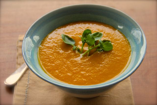Dirty Carrot and Ginger Soup