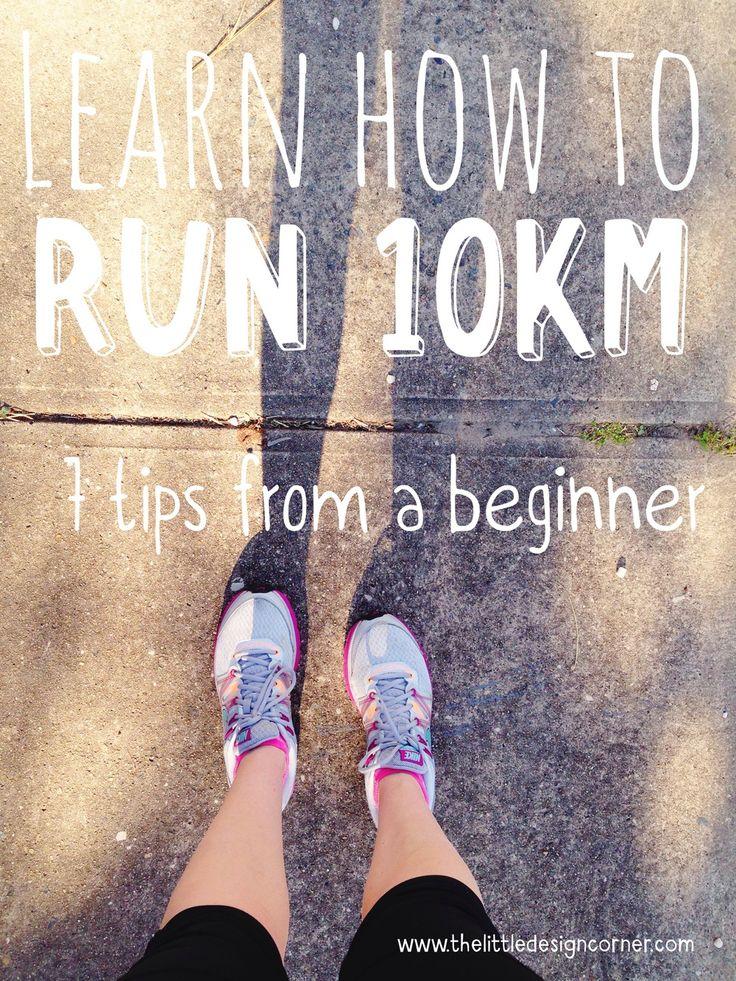 Learn how to run 10km | How to run for beginners | Beginners running tips | Running motivation | The Little Design Corner