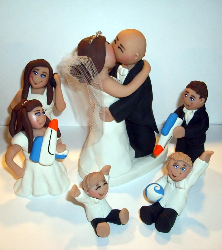 Custom Wedding Cake Toppers Family Facebook
