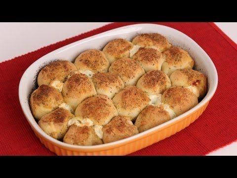 Pepperoni Pizza Bites Recipe - Laura Vitale - Laura in the Kitchen Episode 563 - YouTube
