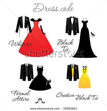 creative black tie attire - Google Search
