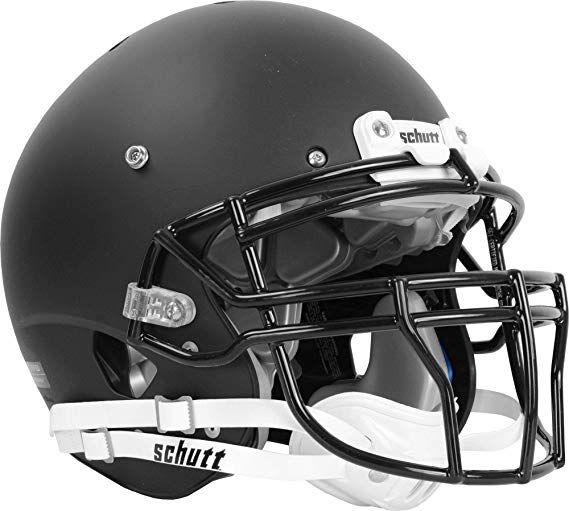 GLOSS BLACK Schutt AiR XP Pro VTD II Football Helmet ADULT LARGE w// Facemask