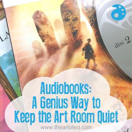 A Genius Way to Keep the Art Room Quiet